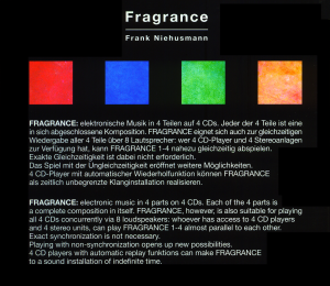 Fragrance 4 CD-Box