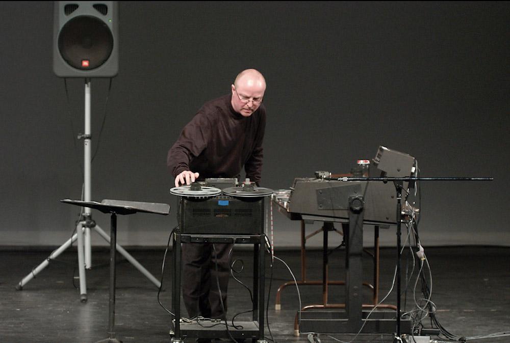 Schnitt!-Performance 2002 in New York