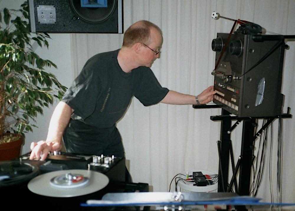 Schnitt!-Tonaufnahme im Studio