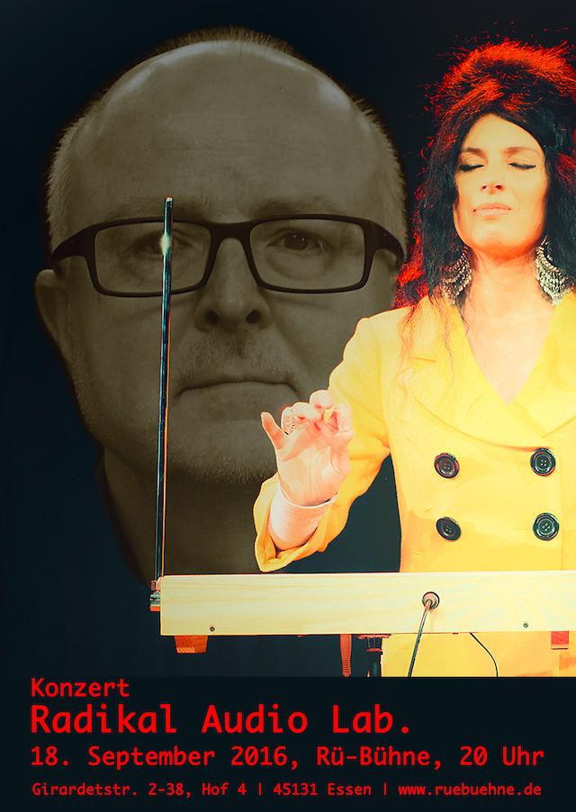Plakat, Radikal Audio Lab. 2016