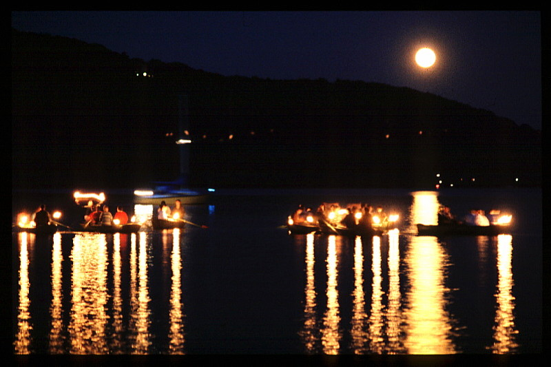 Foto Vollmond am See 1985, No 13